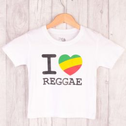 Kids t-shirt | I ❤ Reggae