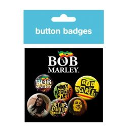 Bob Marley badges -  BP0313
