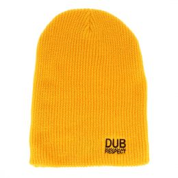 Beanie hat Dub Respect | yellow