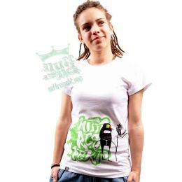 Carry On Lion ladies tshirt - Nuff Respekt