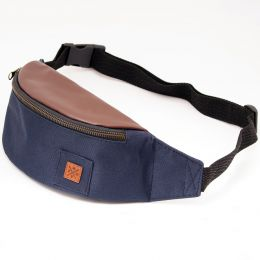 Bum bag Nuff Oxide - navy & brown