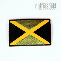 Jamaica flag patch