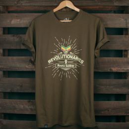 Revolutionaries Roots Soldier | olive tshirt