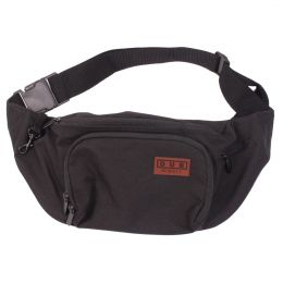 Dub Respect bum bag black  [SAMPLE SALE]