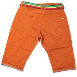 Irie Lion shorts with belt | Ginger - Rasta