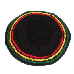 Rasta Dread hat |  Black colour & Rasta