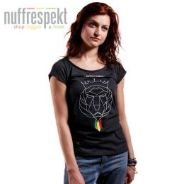 Nuff Lion Roots Wear 01213 women's t-shirt - graphite melange