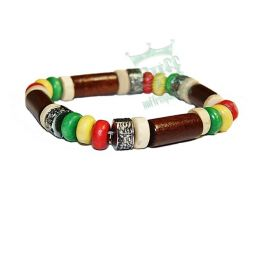 Brown rasta Bracelet #1