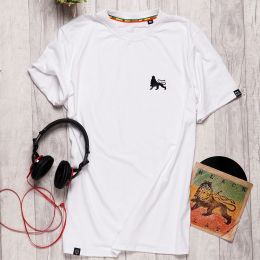DubLion t-shirt | white