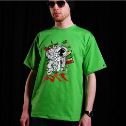 Tshirt męski Nuff Wear Spaceman | green