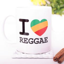 Kubek I Love Reggae 330 ml