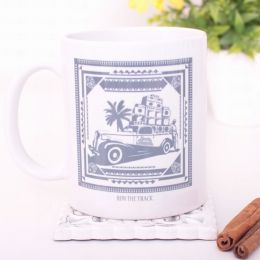 Run The Track | Roots Shack Coffee Mug or Tea Cup 330 ml
