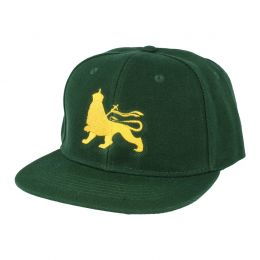 Lion of Judah snapback cap | Green