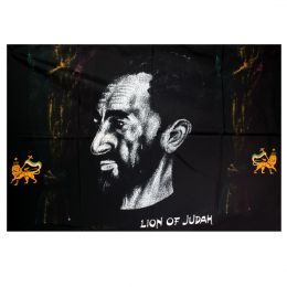 Flaga Haile Selassie I Lion of Judah