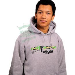 Let It Be Reggae Nuff Respekt Hoody - jamaica flag