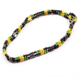 Magnetic Jamaica necklace / bracelet