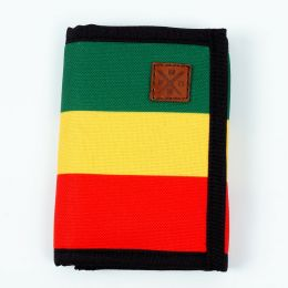 Nuff Wear Classic wallet - rasta [outlet]