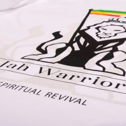 Jah Warrior Spiritual Revival | white tshirt