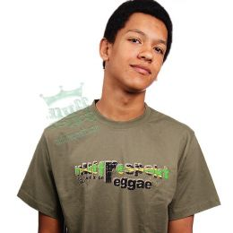 Let It Be Reggae tee - Nuff Respekt - jamaica flag