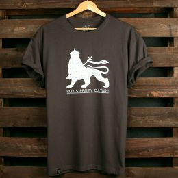 Tshirt Lion of Judah | Szary stalowy