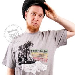 Tshirt Wake The Town - Nuff Respekt