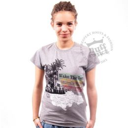 Wake The Town ladies tshirt - Nuff Respekt
