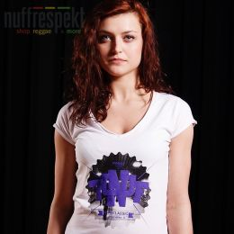 Nuff College 0713 women's t-shirt - white
