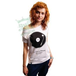 DJ! Play The Reggae - Nuff Respekt Roots Wear ladies shirt