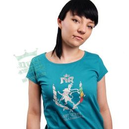 Dirty Modern NR Wreath ladies tshirt