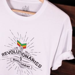Revolutionaries Roots Soldier Rasta tshirt | biel