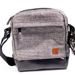 Shoulder Bag / Small Messenger - Nuff wear - gray