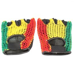 Rasta Bike / Gym Gloves