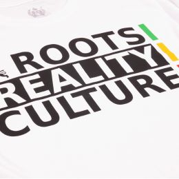 Roots Reality Culture | white tshirt