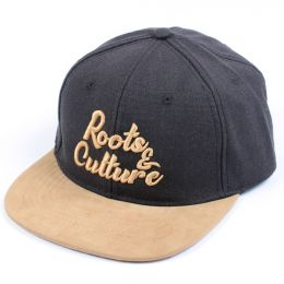 Czapka Snapback Roots & Culture |  Black Ash & Camel