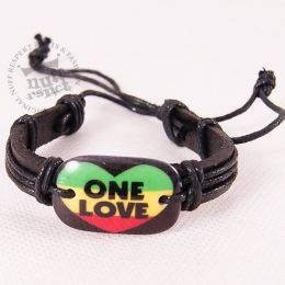 One Love Rasta Bracelet