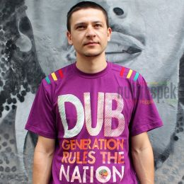 Koszulka Dub Generation Rules The Nation - Nuff Respekt