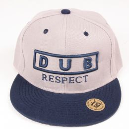 Czapka Snapback Dub Respect - Gray & Navy