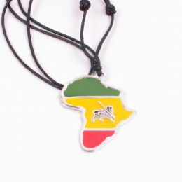 Rasta Africa with the Lion of Juda pendant