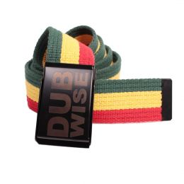 Dubwise cotton Rasta belt