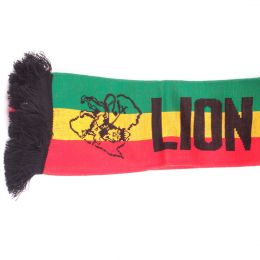 Rasta Lion Of Judah Jacquard Scarves