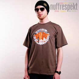 Tshirt - Nuff College 0713 - brown