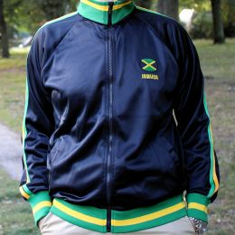 Jacket Jamaican flag colors