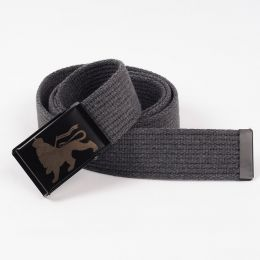 Lion of Judah cotton belt - gray