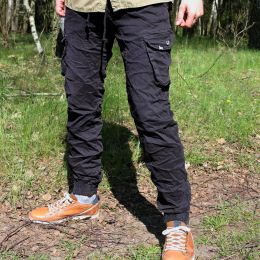 Dub Lion Cargo jogger pants | black
