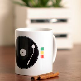 DJ! Play The Reggae Coffee Mug or Tea Cup 330 ml